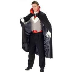 Complete Vampire Standard Size Halloween Costume - Standard - One Size