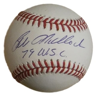 Bill Madlock Autographed Pittsburgh Pirates OML Baseball 79 WSC SGC