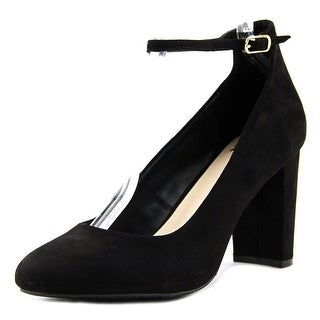 Fergalicious Daisy Women  Round Toe Suede Black Heels