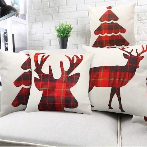 """18""""x 18"""" Throw Square Pillow Covers Cushion Case Sofa Car Decorative Pillowcase"""
