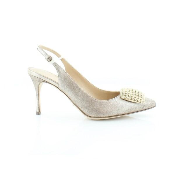 Sergio Rossi Eloise Women's Heels Stardust Platino - 7
