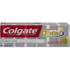 Colgate Total Advanced Fluoride Toothpaste, Deep Clean 4 oz