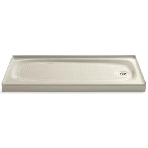 "Kohler K-9054 Salient 60"" x 30"" Single Threshold Shower Base with Right Drain"