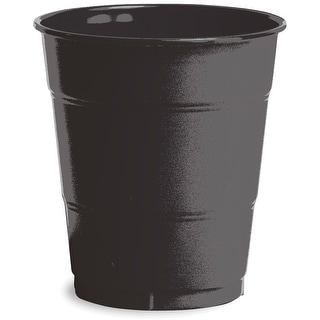 Plastic Cups 12oz 20/Pkg-Black Velvet - Black