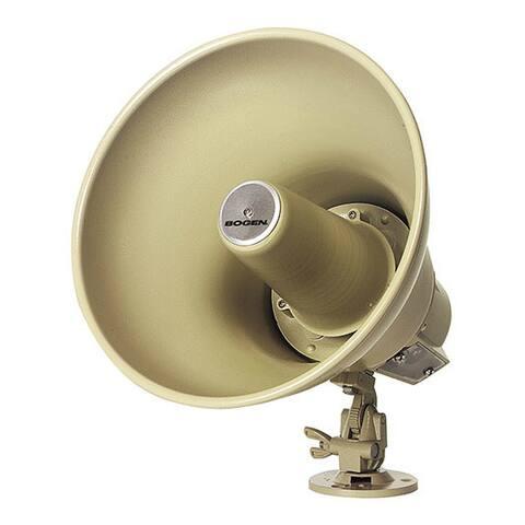 Bogen SPT15A Paging Horn - 15Watt Loudspeaker F/ 70V & 25V Paging Systems - Multicolor