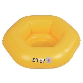 "26"" Yellow Swim ""Step A"" Inflatable Swimming Pool Baby Seat Float for Babies 0-1 Years"