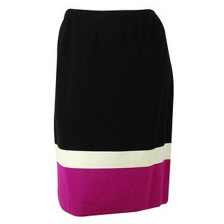 Jones New York Women's Stretch Blend Knit Skirt - 3x