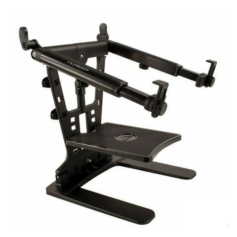 Ultimate Support Hyperstation QR5/8in Thread Mountable Laptop/DJ Stand