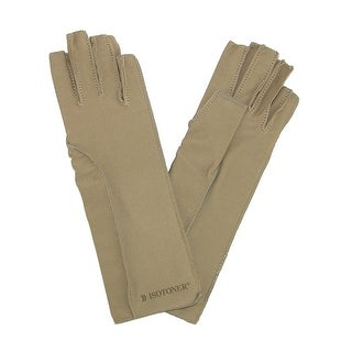 Isotoner Therapeutic Compression Fingerless Gloves