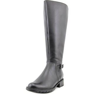 Blondo Vassa    Round Toe Leather  Knee High Boot