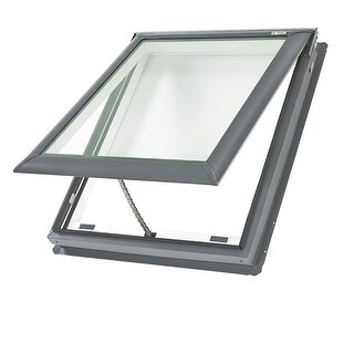 Velux VS C01 2005 21-1/2 Inch x 27-3/8 Inch Tempered Manual Venting Deck Mounted - n/a