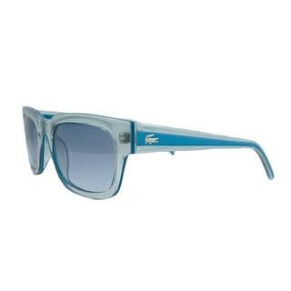 Lacoste L 699S 497 Clear Blue Wayfarer Sunglasses
