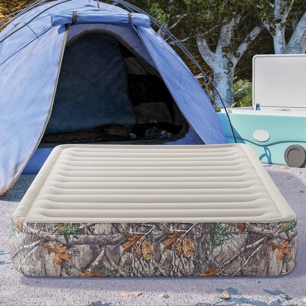 "Realtree EDGE Outdoor Sport Air 13"" Pillow Top Queen Air Mattress Bed. Opens flyout."