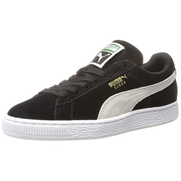PUMA Womens 35546 01 Suede Low Top Lace Up Fashion Sneakers - 9