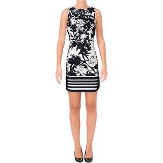 Lauren Ralph Lauren Womens Wear to Work Dress Floral Print Colorblock (More options available)