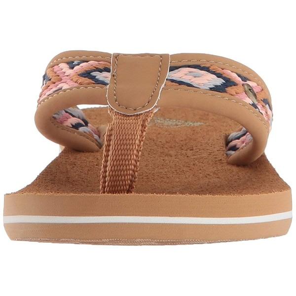 ed9deb099415 Shop Roxy Girl s Rg Saylor Flip Flop Sandal - Free Shipping On ...