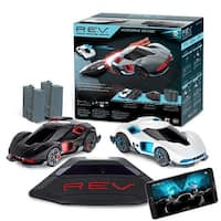 WowWee REV Robotic Enhanced Smart Vehicles Deluxe Set 2 Cars Ramp & 2 Power Pack