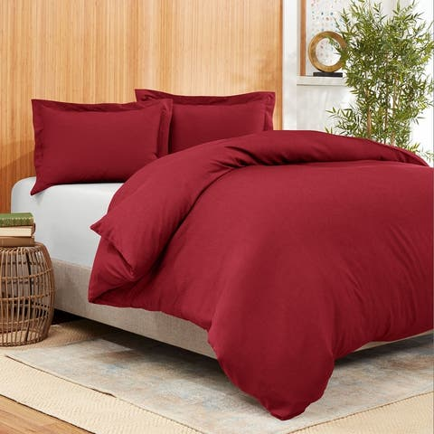 Empyrean Bedding Bamboo Blend 3-Piece Duvet Cover Set