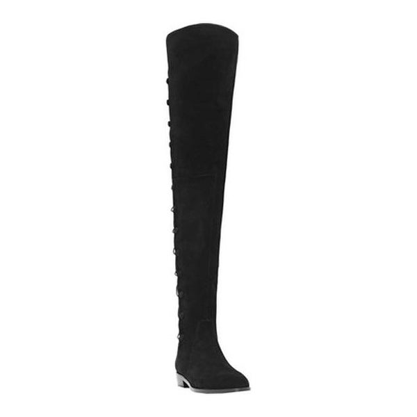 e128a13dfa5 Shop Vince Camuto Women s Coatia Over the Knee Boot Black True Suede ...