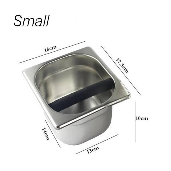 Stainless Steel Coffee Residue Bucket