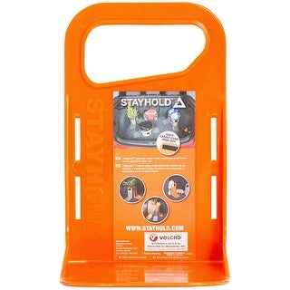 "Stayhold(Tm) Mini Modular Cargo Organizer 4.5""Wx7.5""H-Orange"