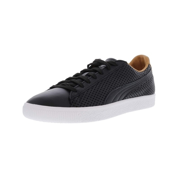 bc01444811 PUMA Men's Clyde Colorblock 2 Leather Fashion Sneaker - 12