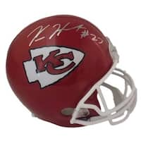 Kareem Hunt Autographed Kansas City Chiefs Replica Helmet JSA
