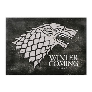 "Winter is Coming Stark Canvas Wall Art - 18"" x 13"" - 18 in. x 13 in."