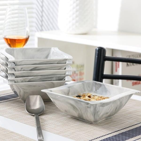 Malacasa Flora Porcelain Dinnerware Set Service For 6 Overstock 31648150