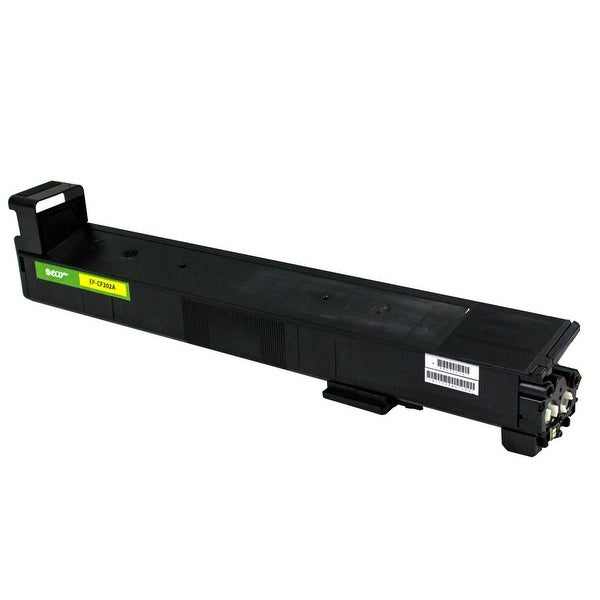 Monoprice Remanufactured HP CF302A Toner - Yellow