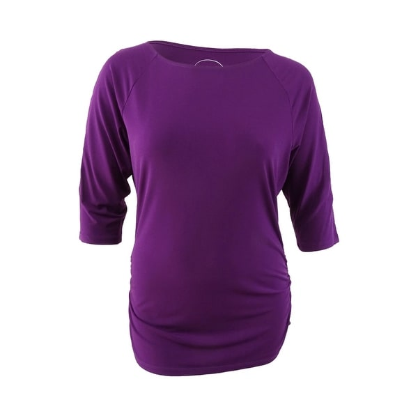 d36536c19ff Shop INC International Concepts Women's Cold-Shoulder Top (XXL, Purple  Paradise) - Purple Paradise - XXL - Free Shipping On Orders Over $45 -  Overstock.com ...