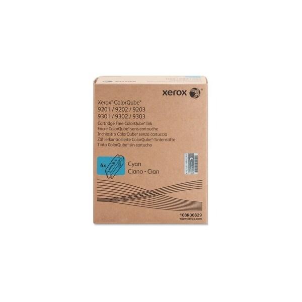 Xerox 108R00829 Xerox ColorQube Cyan Solid Ink, 108R829 - Cyan - Solid Ink - 37000 Page - 4 / Carton