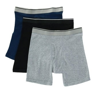 select for latest half off provide plenty of Topman Men's Solid Boxer Briefs Underwear (3 Pair Pack) | Overstock.com  Shopping - The Best Deals on Underwear