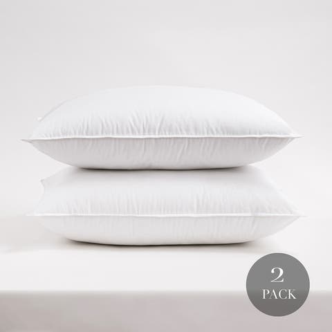Cozy Classics Hotel Collection 233 Thread Count Cotton Pillow