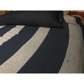 Eddie Bauer Boylston Stripe Navy Blanket On Sale Overstock 16280012