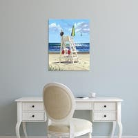 Easy Art Prints Scott Westmoreland's 'Pelican Perch' Premium Canvas Art