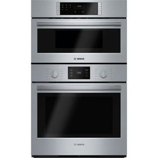 Bosch HBL57M52UC 30 Inch Wide 4.6 Cu. Ft. Built-In Oven/Microwave Combo with EcoClean - Stainless Steel
