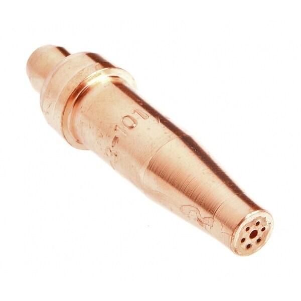 Medium Duty Size 2 Victor Style Oxygen Acetylene Forney 60449 Cutting Tip