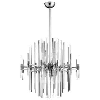 Cyan Design Quebec Six Light Pendant Quebec 6 Light Pendant with Silver Shade