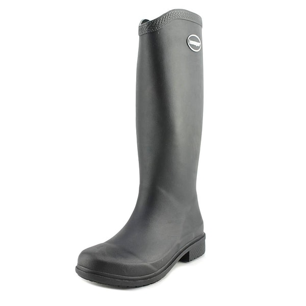 Havaianas Hav High Rain Boots Women Black Snow Boots