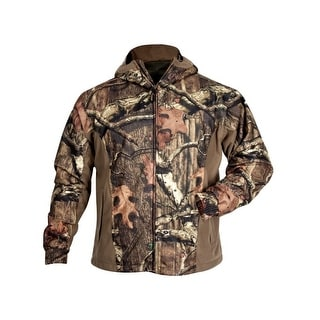 Rocky Outdoor Jacket Mens Lightweight Waterproof Mesh Mossy Oak 602315