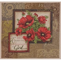 Bucilla Counted Cross Stitch Picture Kits, 45651 Wonder Works of God
