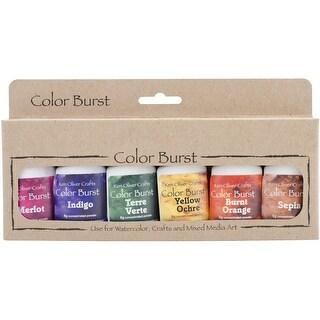 Ken Oliver Color Burst Powder 6/Pkg-Earth Tones