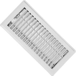 """Imperial Mfg RG0157 Standard Floor Register, 2-1/4""""x10"""", White"""