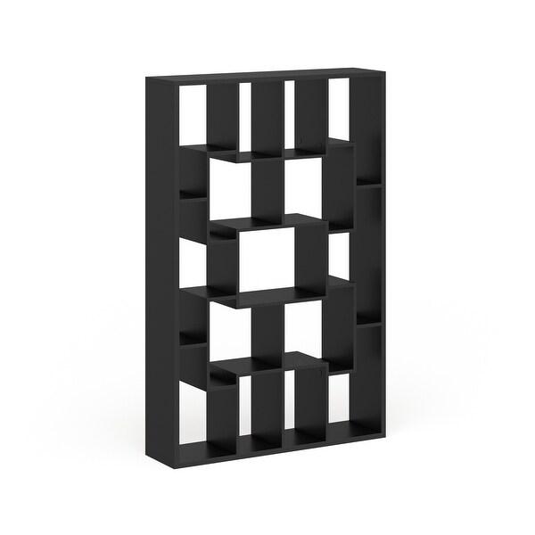 Furniture of America Fora Contemporary Walnut Bookcase