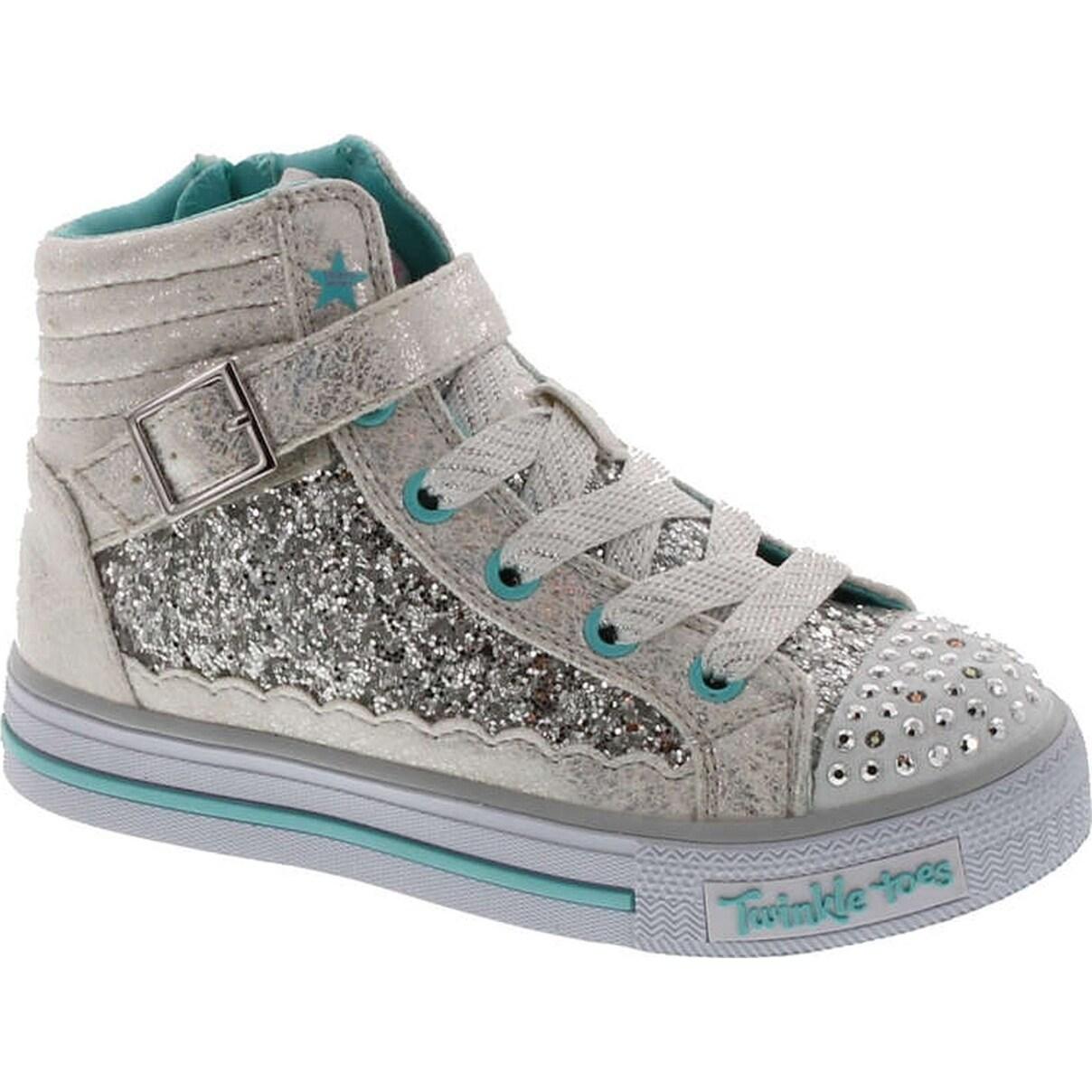 Shop Skechers Kids' Shuffles-Glitter