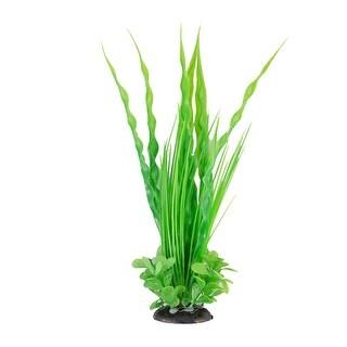 Fish Tank Aquarium Plastic Manmade Water Plant Grass Landscape Ornament Green