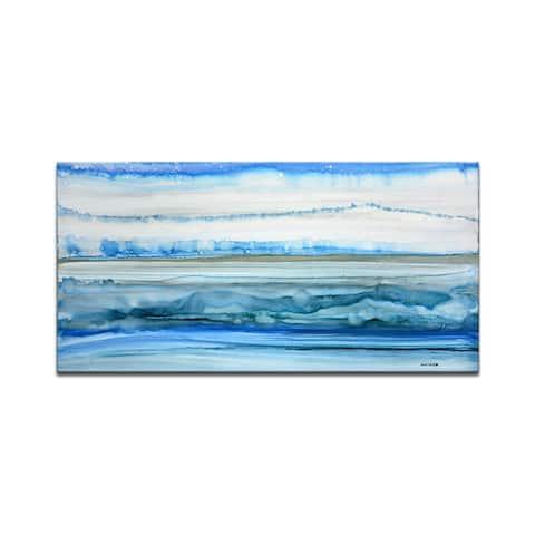 'Frigid Morning' Wrapped Canvas Wall Art by Norman Wyatt Jr.