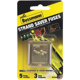 Bussman Holiday Party Light Fuse