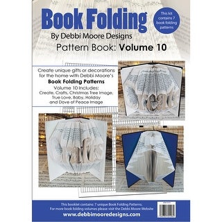 Debbi Moore Book Folding Pattern Book-Volume 10, 7 Designs